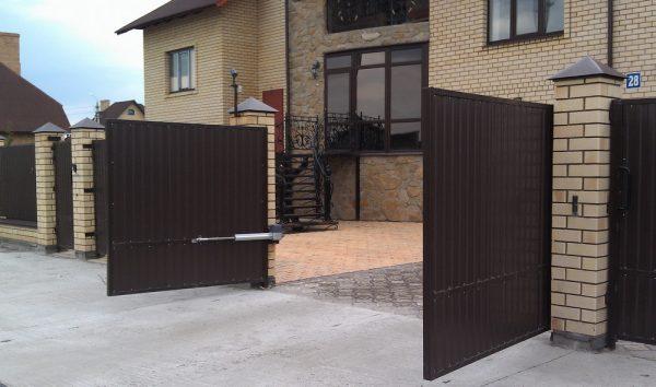 Как выбрать и где купить распашные ворота? фото